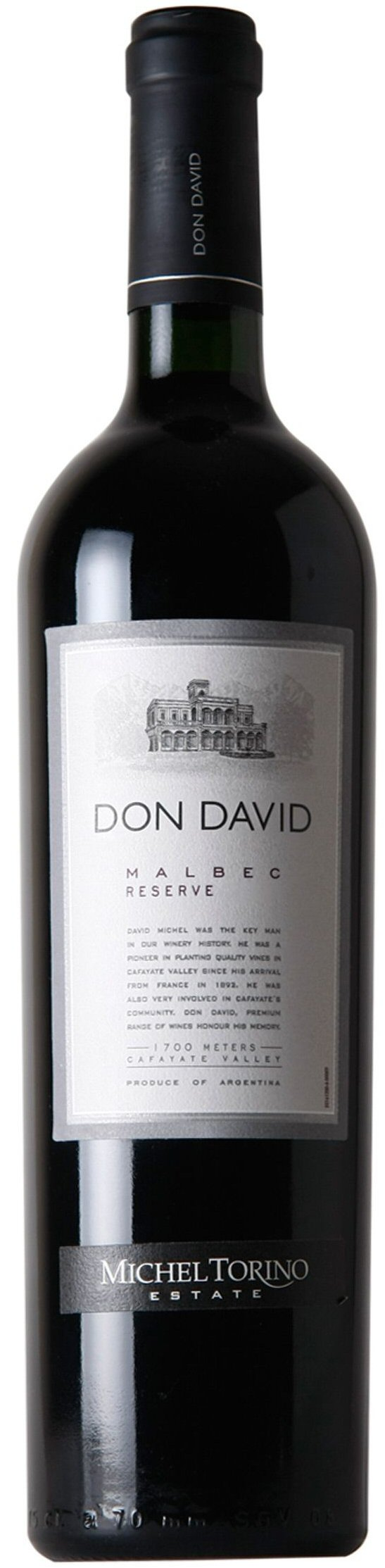 Michel Torino  Don David Reserve Malbec 2014